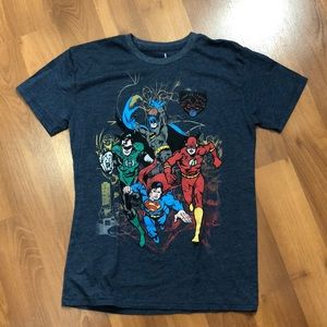 DC Comics Boys size Large character t-shirt